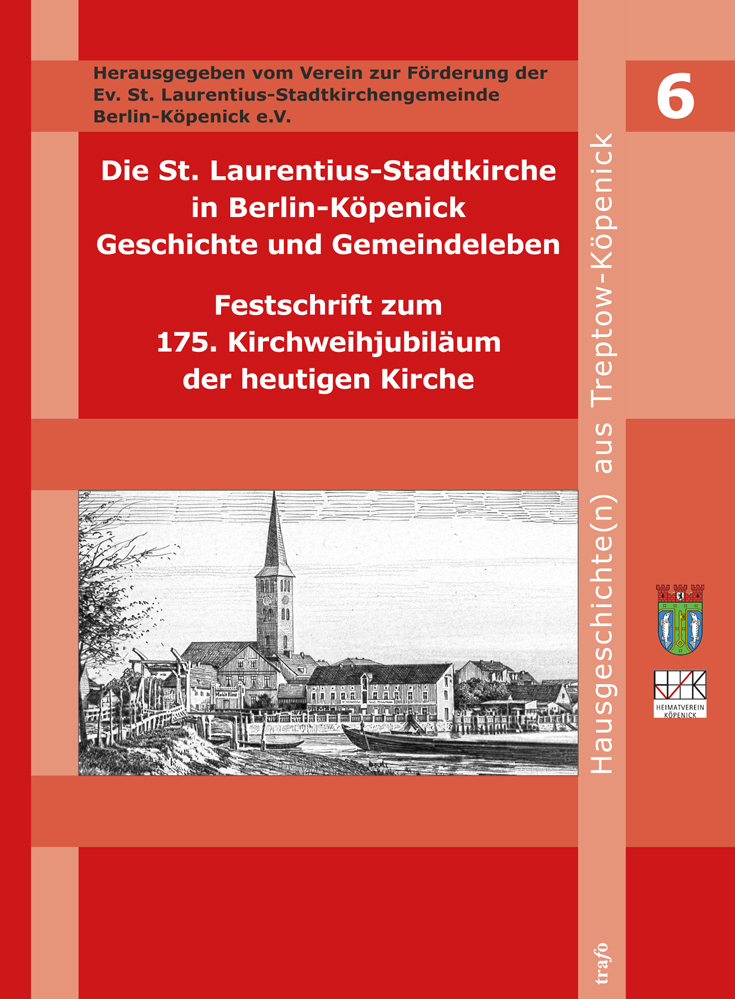 Buchcover - St. Laurentius-Stadtkirche in Berlin-Köpenick