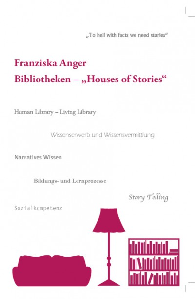 "Buchcover - Bibliotheken ""Houses of Stories"""