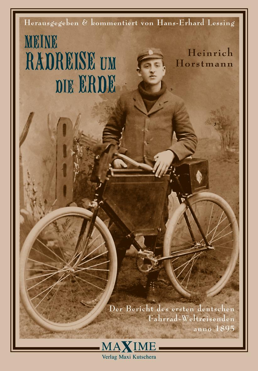 Buchcover - Meine Radreise um die Erde