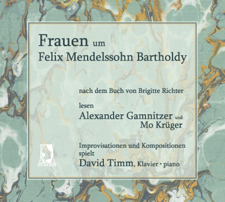 CD-Cover - Frauen um Felix Mendelssohn Bartholdy