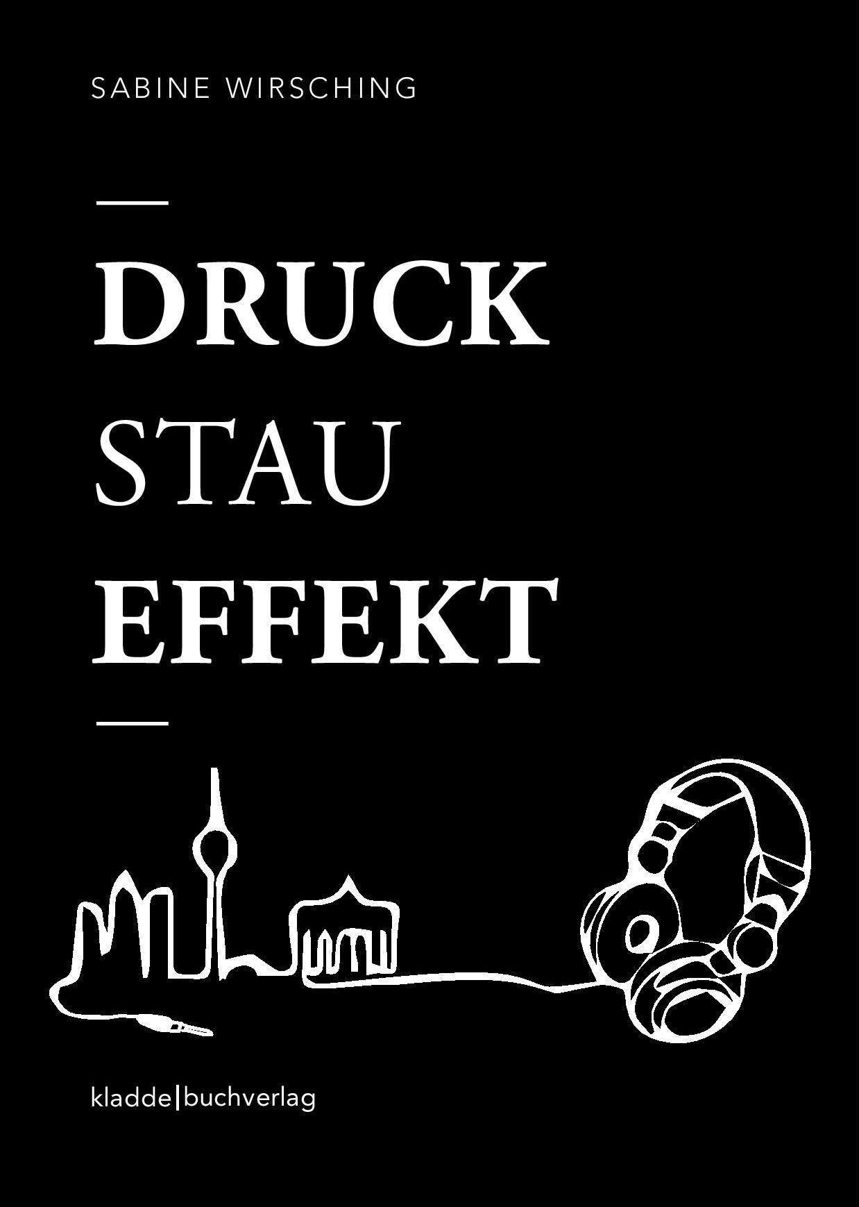 Buchcover - Druckstaueffekt