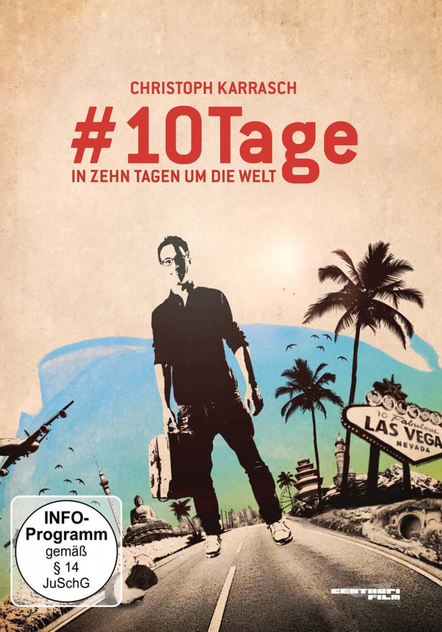 DVD-Cover - #10Tage. In zehn Tagen um die Welt