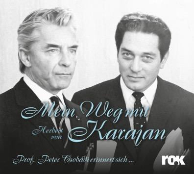 CD-Cover - Mein Weg mit Herbert von Karajan