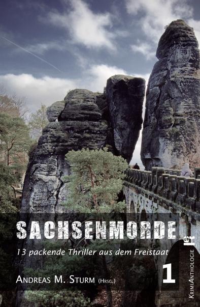 Buchcover - Sachsenmorde