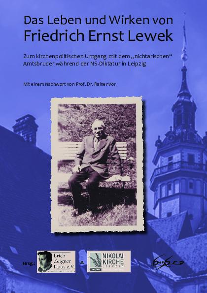 Buchcover - Das Leben und Wirken von Friedrich Ernst Lewek